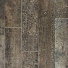 Frontier Dark Wood Plank Porcelain Tile