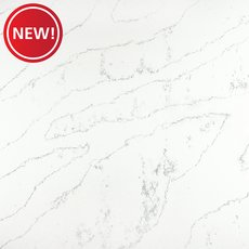 New! Sample - Custom Countertop Carrara Cervino Quartz