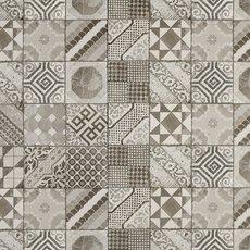 Castel Patchwork Gray Porcelain Tile
