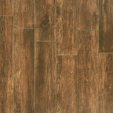 Texas Castano Wood Plank Porcelain Tile