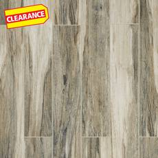 Clearance! Chesterfield Gray Wood Plank Ceramic Tile