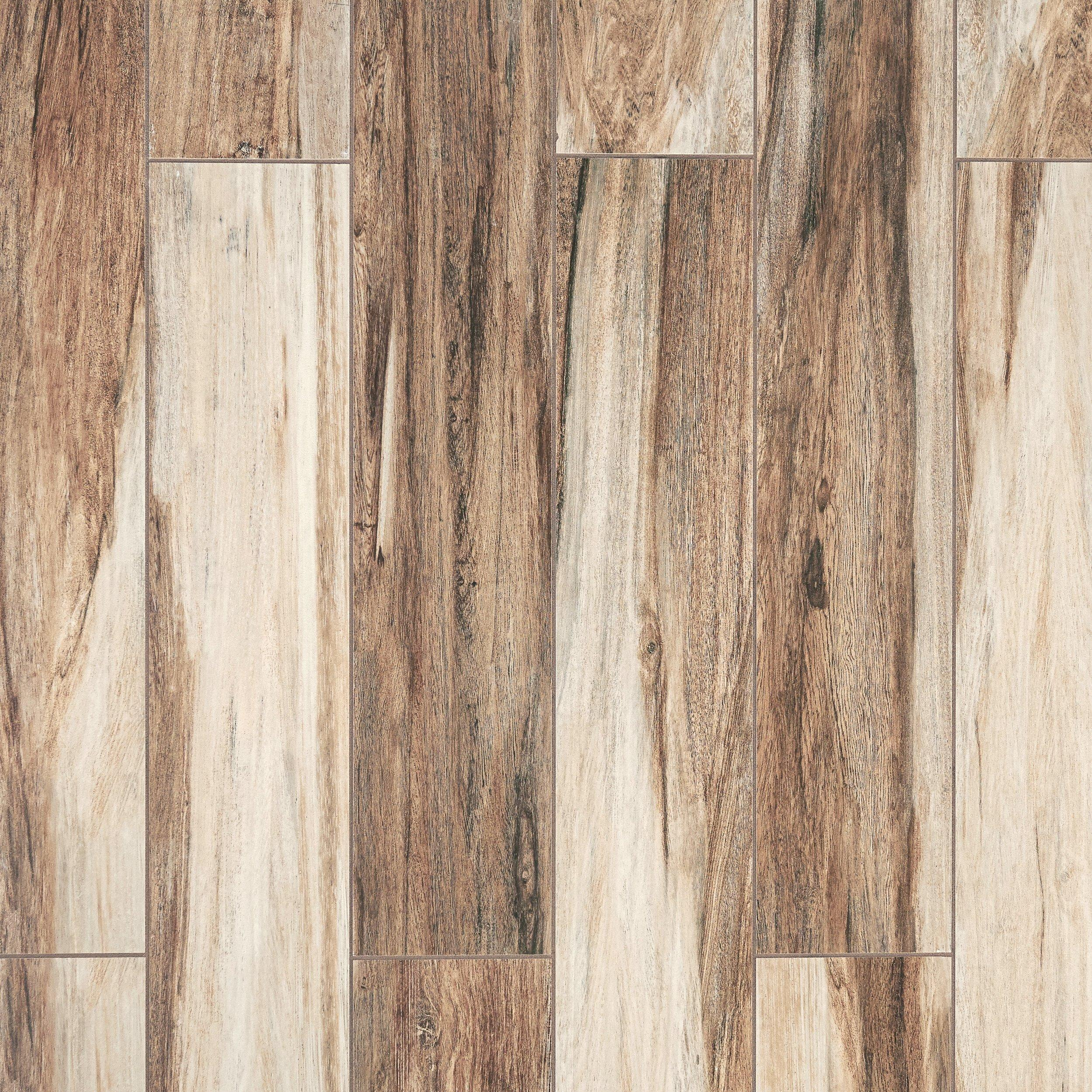 Wood look tile floor decor chesterfield brown wood plank ceramic tile doublecrazyfo Choice Image