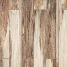 Chesterfield Brown Wood Plank Ceramic Tile