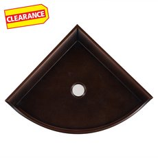Clearance! Oil Rubbed Bronze Decorative Corner Shelf