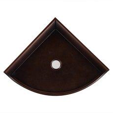 Oil Rubbed Bronze Decorative Corner Shelf