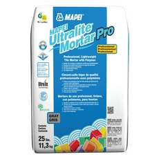 MAPEI Ultralite Mortar Pro White Powder Polymer-Modified Mortar