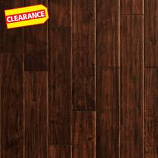 Clearance! Tobacco Chalet Acacia Hand Scraped Solid Hardwood