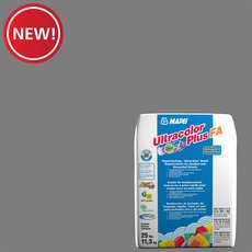 New! Mapei 19 Pearl Gray Ultracolor Plus FA Grout