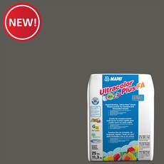 New! Mapei 47 Charcoal Ultracolor Plus FA Grout