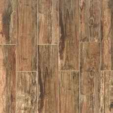 Westford Brown Wood Plank Porcelain Tile