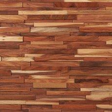 Small Leaf Acacia Hardwood Wall Plank Panel
