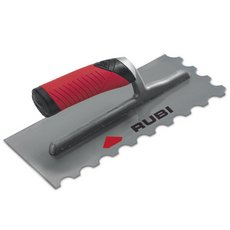 Rubiflex Handle 11inch Steel Notched Trowel