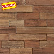 Clearance! Teak Panel Parts Wood Mosaic