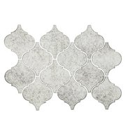 Antique Mirror Arabesque Glass Mosaic
