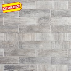 Clearance! Weathered Oak Porcelain Tile