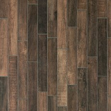 Carson Ridge Brown Wood Plank Porcelain Tile