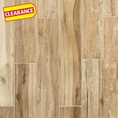 Clearance! Bryce Canyon Timber Wood Plank Ceramic Tile