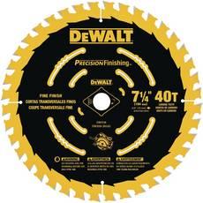 DeWalt 7 1/4in. 40T Precision Finishing Saw Blade