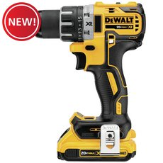 New! DeWalt 20-Volt MAX XR Lithium Ion Brushless Compact Drill / Driver Kit