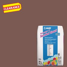 Clearance! Mapei 113 Brick Red KeraColor S Sanded Grout