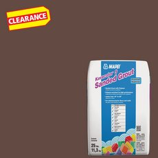 Clearance! Mapei 114 Mahogany KeraColor S Sanded Grout
