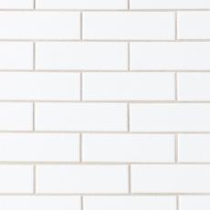 White Brick Ceramic Mosaic