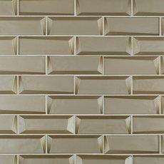 Broadway Gold 2 x 6 in. Brick Glass Mosaic