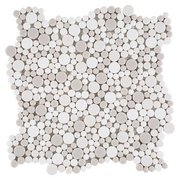 Bubbles Recycled Glass Mosaic