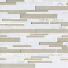 Paros Summer Stone Polished Glass Mosaic