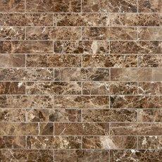Dark Emperador Polished Marble Tile