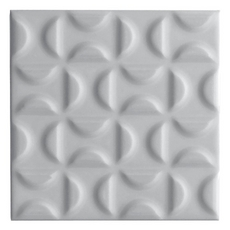 Heritage Slate Gray Deco Ceramic Tile