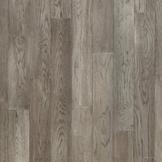 Timberclick Mirren Gray Oak Wirebrushed Solid Hardwood