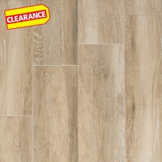 Clearance! Truewood Cream Wood Plank Porcelain Tile