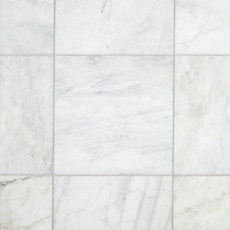 Ocean White Honed Marble Tile