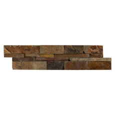 Multi Color Split Face Slate Panel Ledger