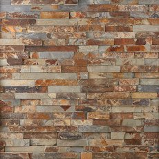 Multicolor Splitface Slate Panel Ledger