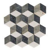 Modern Geo Slate Mosaic