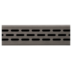 Compotite 36in. Oval Design Oil Rubbed Bronze Linear Drain Grate