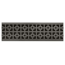 Compotite 36in. Mission Design Oil Rubbed Bronze Linear Drain Grate