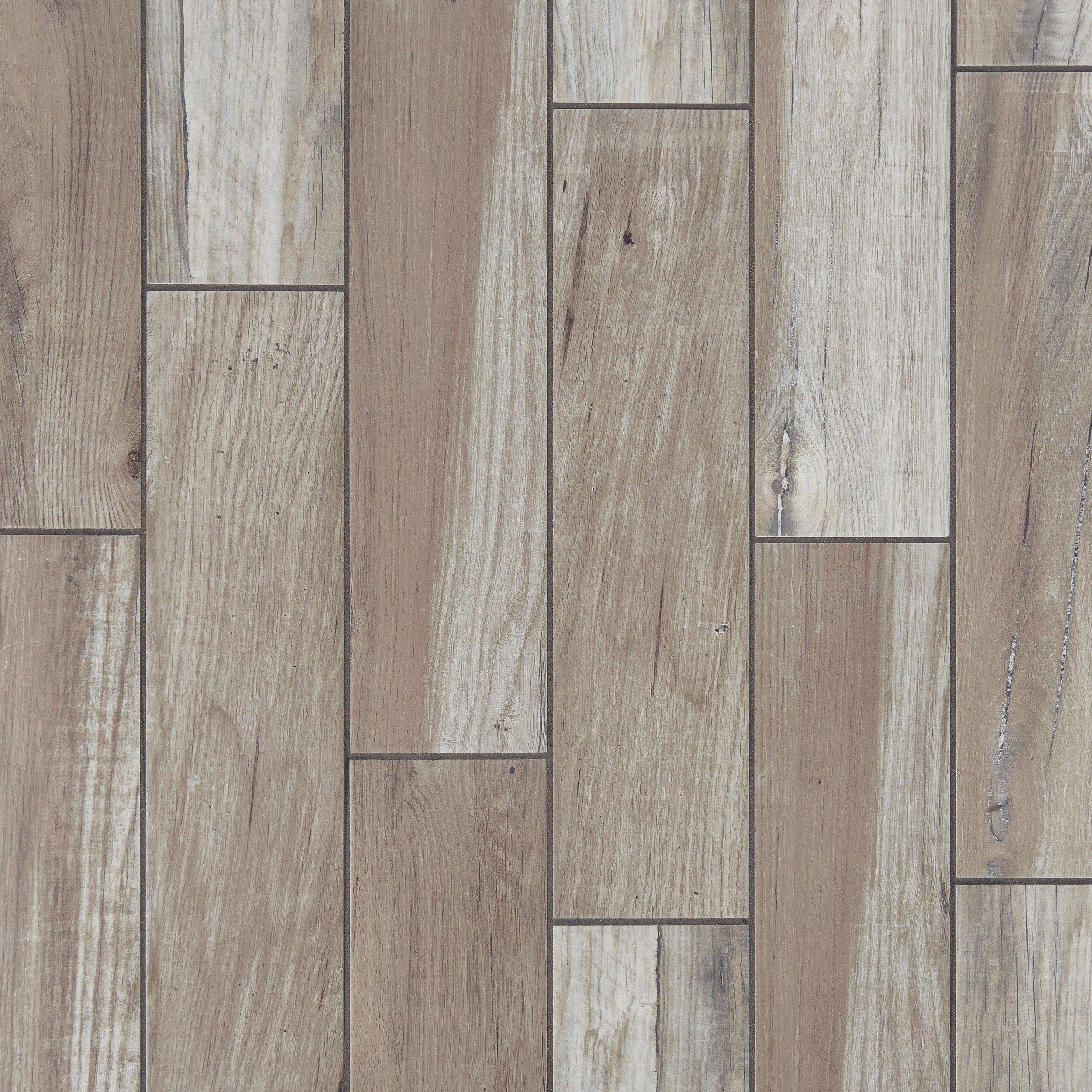 Wood look tile floor decor tahoe silver wood plank porcelain tile dailygadgetfo Gallery