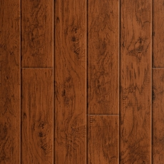 Carolina Hickory Hand Scraped Luxury Vinyl Plank