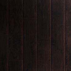 Dark Hampton Hickory Hand Scraped Luxury Vinyl Plank