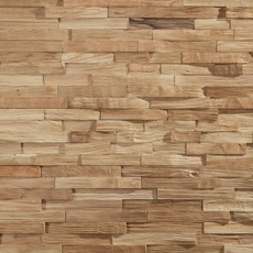 Dimensions Hardwood Natural White Oak Wall Plank Panel