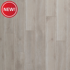 New! AquaGuard Distressed White Oak Matte Water-Resistant Laminate