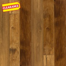 Clearance! Mixed Blonde Hand Scraped Water-Resistant Laminate