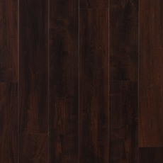 Dark Mahogany Hand Scraped Plank with Cork Back