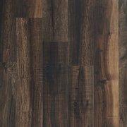Mixed Mocha Rigid Core Luxury Vinyl Plank - Cork Back