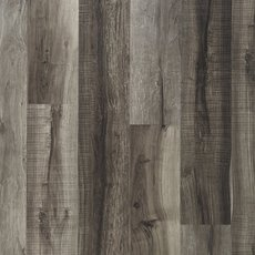 Mixed Gray Rigid Core Luxury Vinyl Plank - Cork Back