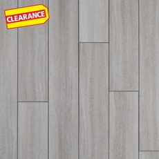 Clearance! White Grouted Rigid Core Luxury Vinyl Tile - Cork Back