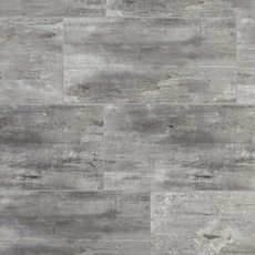 Rustic Gray Grouted Rigid Core Luxury Vinyl Tile- Cork Back